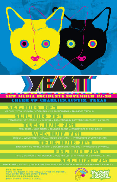 Y.East poster